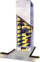 Автоматическа парковка: стоянк-лифт